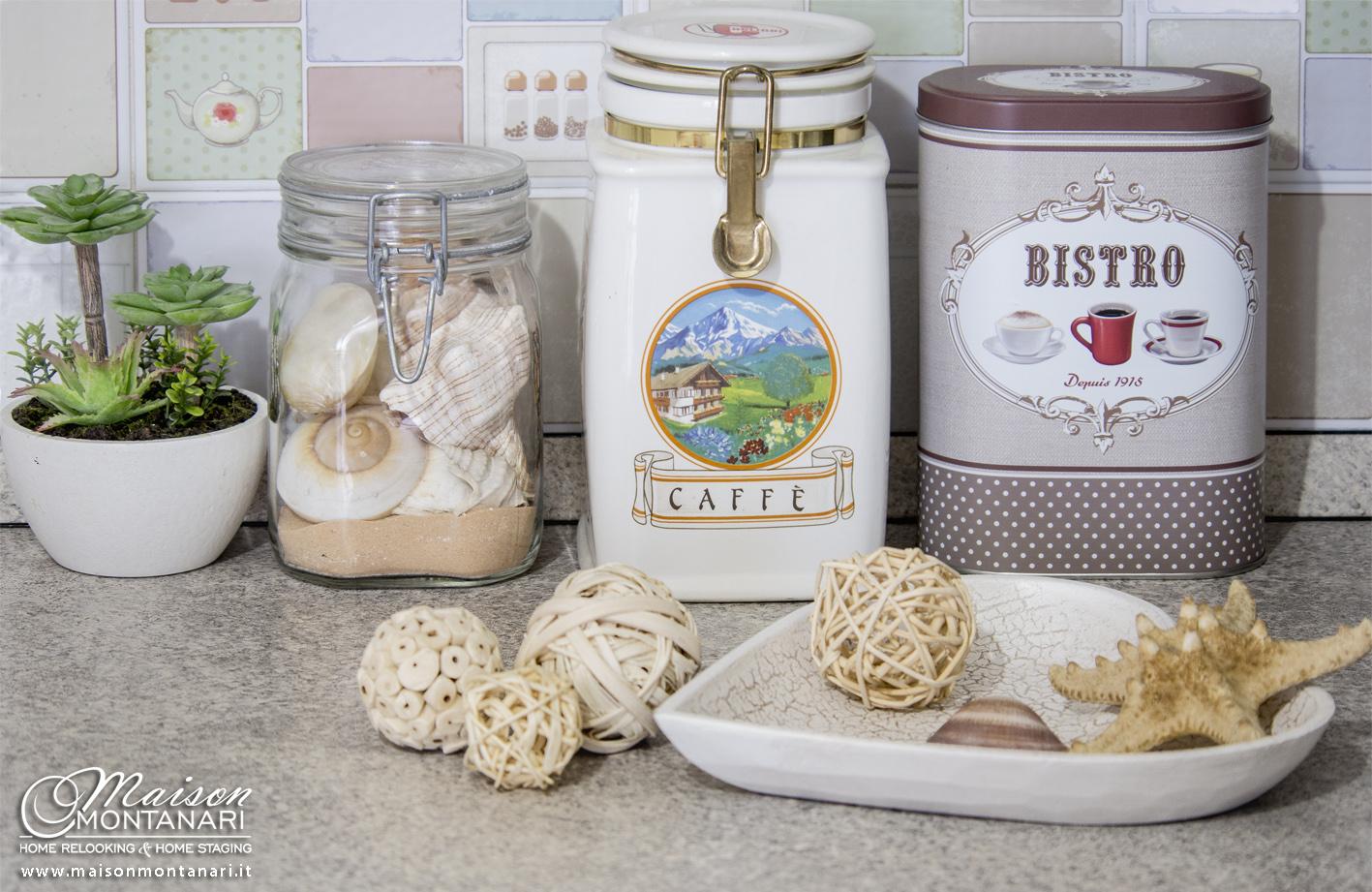 Barattoli vintage in cucina maison montanari - Barattoli cucina maison du monde ...