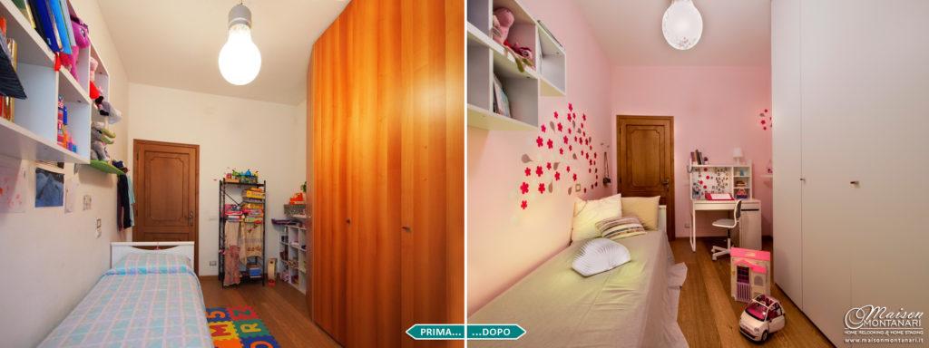 [Home Relooking] Rinnovare la cameretta per una bambina che diventa grande