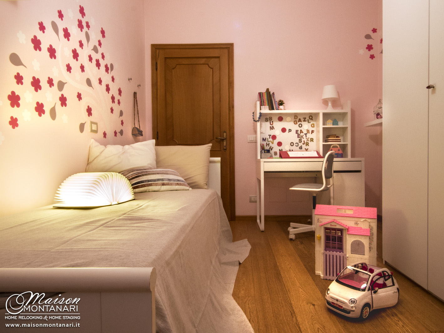 Home Relooking Rinnovare La Cameretta Per Una Bambina Che Diventa